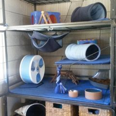 Fleece Liner Sets: for hutches & specialty cages