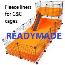 Fleece liners for C&C cages – READYMADE