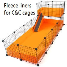 Fleece liners for C&C Cages