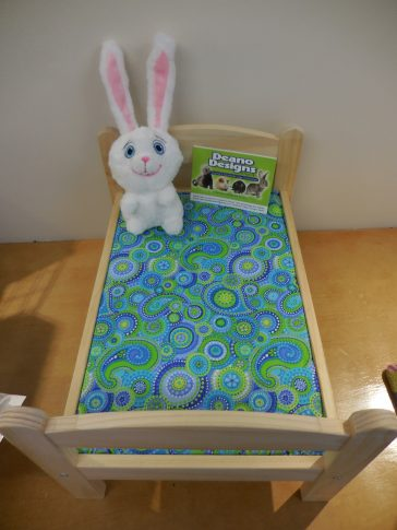 Doll bed bedding – NOW AVAILABLE!