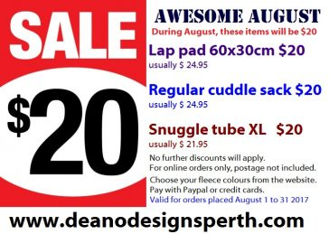 AWESOME AUGUST DEAL