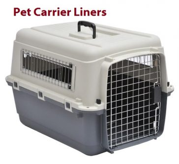 Pet Carrier Liners